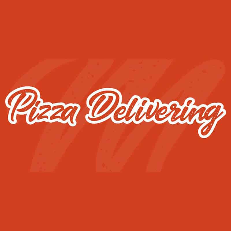 pizza delivery banner