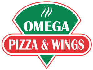 omega pizza logo